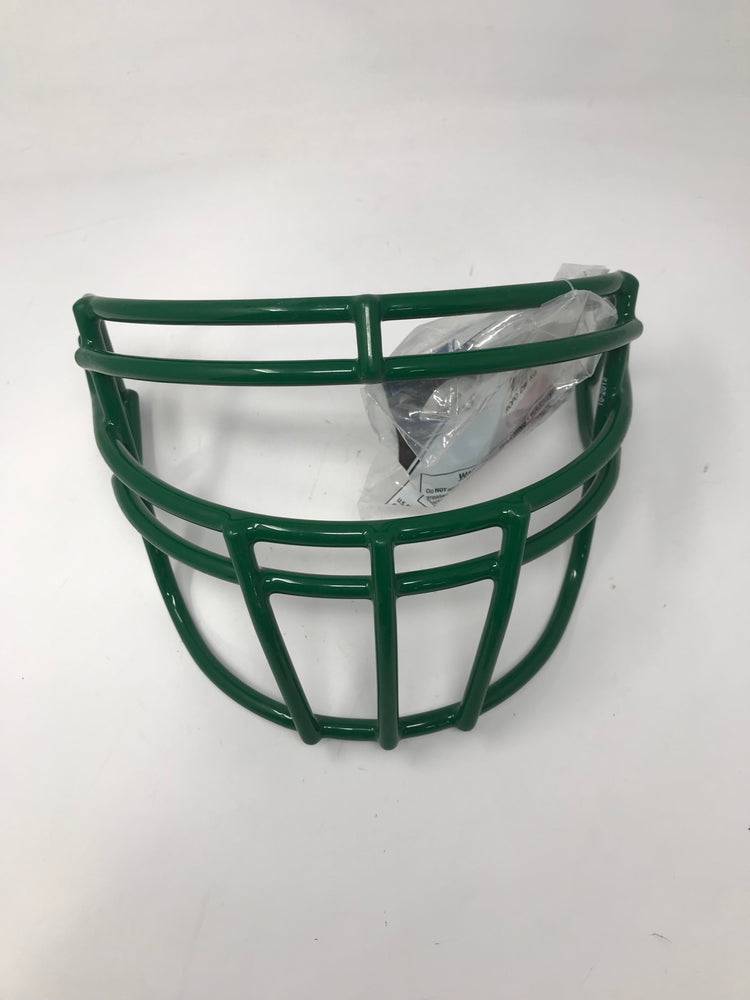 New Schutt Sports Super Pro Football Faceguard Green Adult