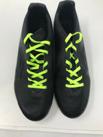 Used Umbro 80917 Black/Green Molded Soccer Cleat Firm Ground Men 10.5