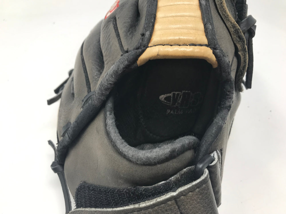 Used Easton Typhoon T - 11 Baseball Glove 11 Inch Right Hand Thrower Gray/Tan