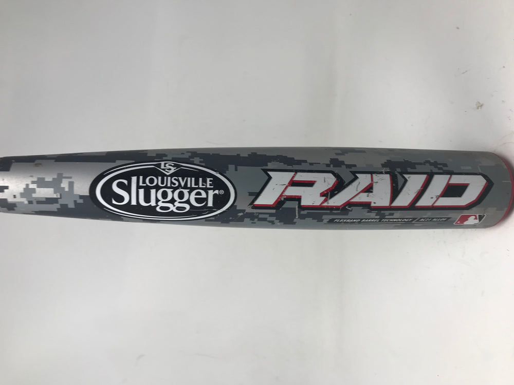 Used 33/30 Louisville Slugger Raid BBCOR Baseball Bat BBRD14-RR -3 2014 2 5/8""