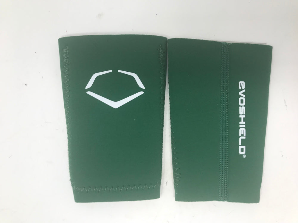 New EvoShield Lacrosse Slash Guards Green/White Large Gel-to-Shell Technology