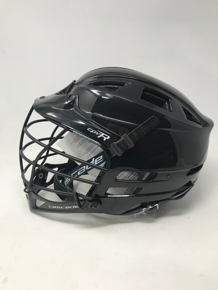 New Cascade CPV-R XS Lacrosse Helmet Black Official R Series