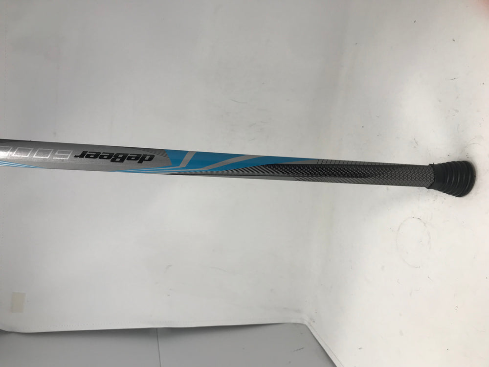 New Other Debeer 6000 Women's Lacrosse Shaft Silver/Royal/Black 32 inch