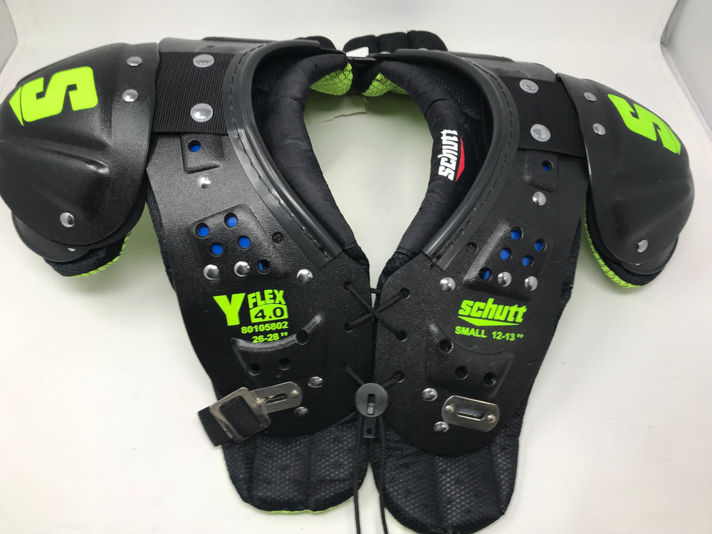 New Other Schutt Sports Y-Flex 4.0 All-Purpose Youth Football Shoulder Pads, Sm