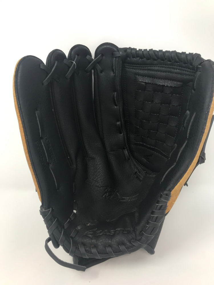New Easton BX1400B Baseball Glove (14-Inch) LHT Black/Brown