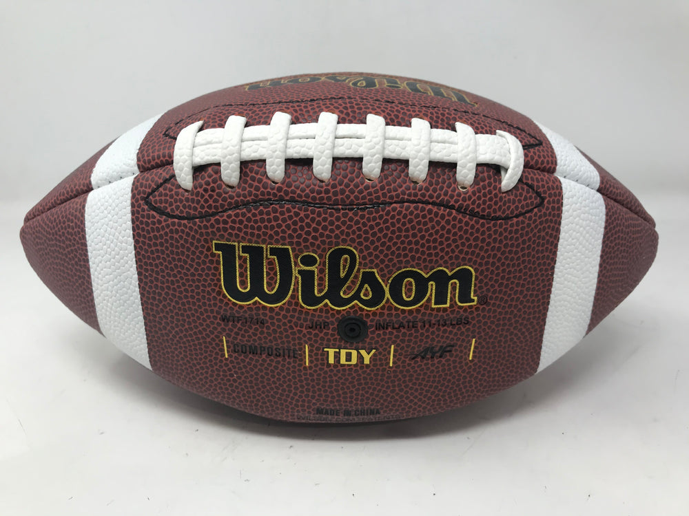 New Wilson Composite Football Youth WTF1714 TDY