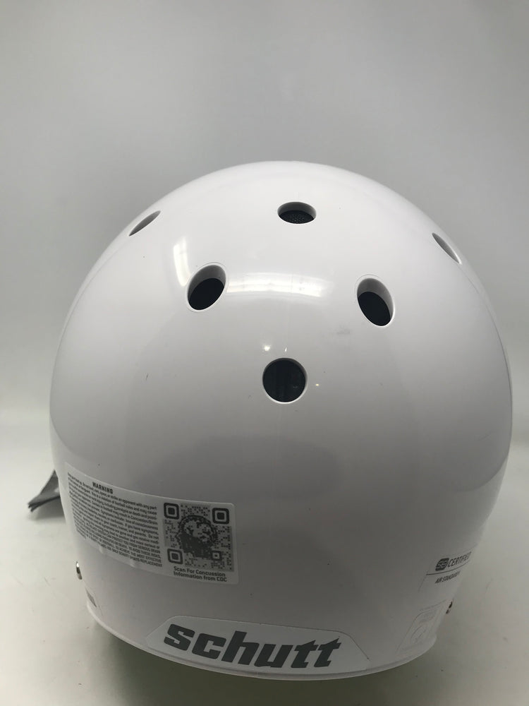 New., Other Schutt Adult AiR Standard V Football Helmet Complete White/Gray Small
