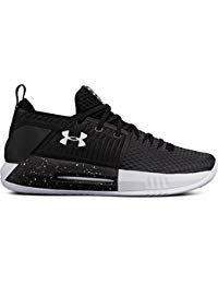 New Under Armour Men's Drive 4 Low Basketball Shoe Black/White size 6.5