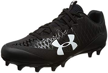 New Under Armour Nitro Select Low MC Molded Football Cleat Mens Size 13 Blk/Wht