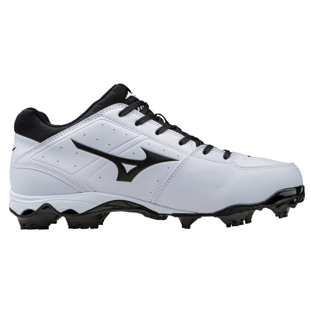 New Mizuno 9 Spike Adv. Finch Elite 2 Size Womens 6 Softball Cleat White/Black