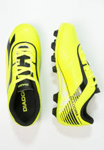 New Diadora Men's 11.5 7fifty Mg14  Soccer Molded Cleats Black/Yellow