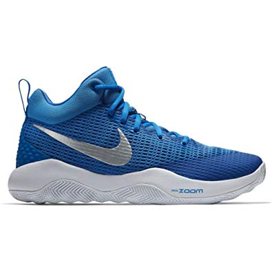 New Nike Zoom Rev TB Basketball Shoes Men 5.5/Wmn 7  Royal White