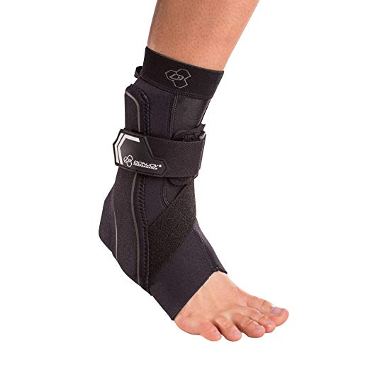 New DonJoy Performance Bionic Ankle Brace 60° w/Stirrup Right Foot Black Medium