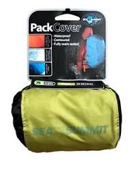 New Sea To Summit Pack Cover 70D Green/Black Waterproof, Fully Seam Sealed
