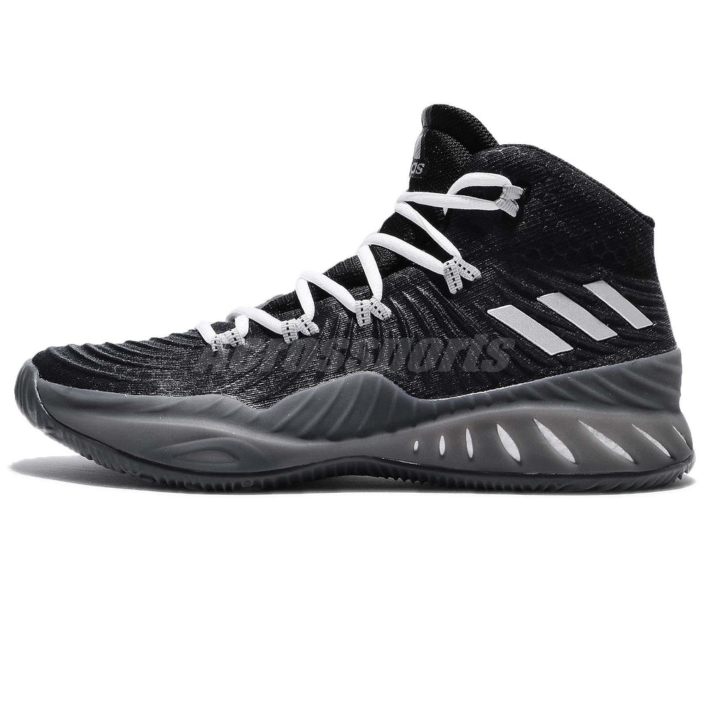 New Other Adidas Crazy Explosive 2017 Mens Size 12 Basketball Shoe Black/Silver