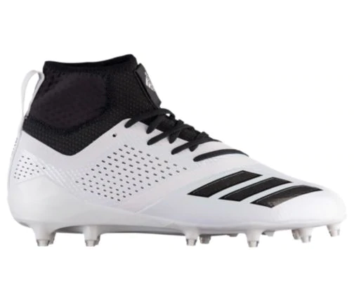 New Adidas Mens 10 adizero 5-Star 7.0 SK Football Molded Cleats White/Blk CQ0340