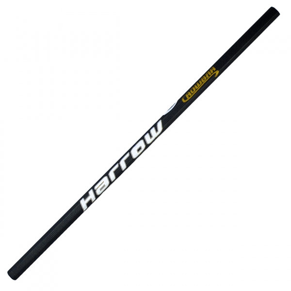 New Harrow Crowbar Lacrosse Attack Shaft 32 Inch Black/White