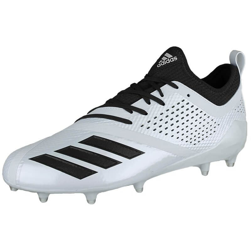 New Adidas Mens 15 adizero 5-Star 7.0 Football Molded Cleats White/Black