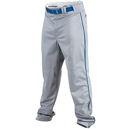 New Rawlings Men Pro Preferred Pant with Piping XX-Large Gray/Royal Piping