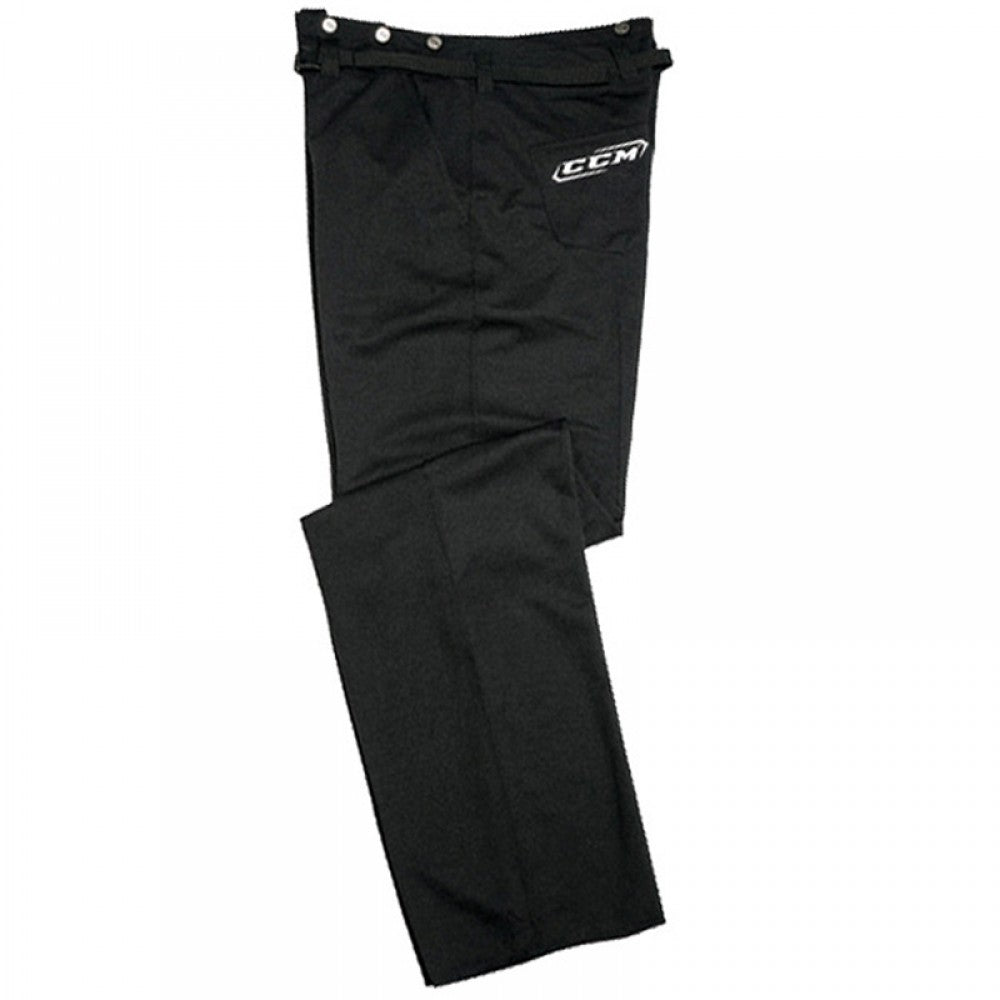 New CCM PP8L Ice hockey Lycra Referee Pants Large Black