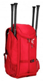 "New Easton Pro X  Baseball Back Pack Red  Size: 24.5"" H x 15"" W x 11"" D"