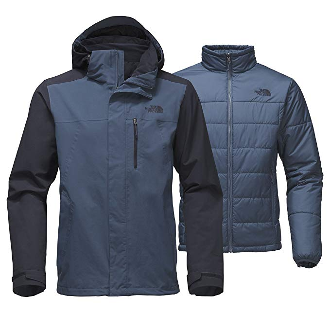 New The North Face Men's Carto Triclimate Jacket Blue/Navy L