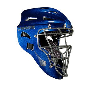 New Worth W31588 Prodigy Yuoth Catcher's Mask Royal/Silver ages 6-9, 30-65 Lbs