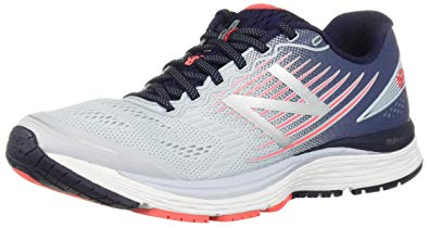 New New Balance Womens W880GP8 Gray/Orange 6 B Medium Running Shoes