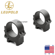 LEUPOLD RING MOUNT QRW2 30mm MEDIUM QUICK DETACHABLE (MT664)