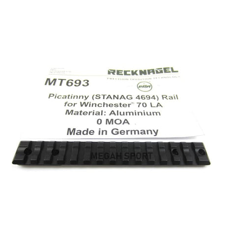 RECKNAGEL GERMANY 1-PIECE BASE MOUNT for WINCHESTER 70 LA (MT693)