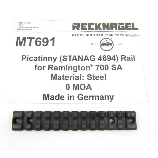 RECKNAGEL GERMANY 1-PIECE BASE MOUNT for REMINGTON 700 SA (MT691)