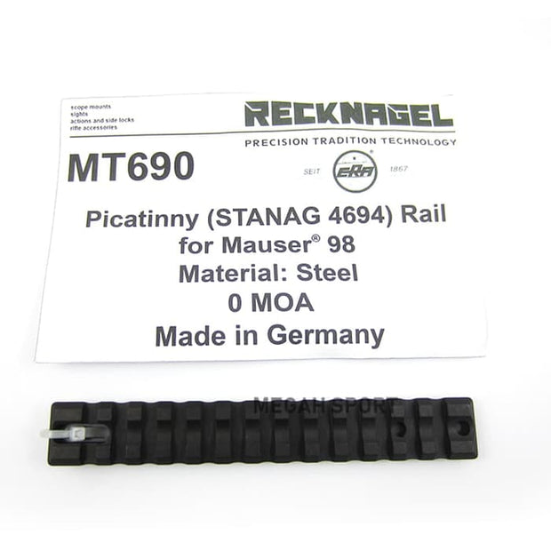 RECKNAGEL GERMANY 1-PIECE BASE MOUNT for MAUSER 98 (MT690)