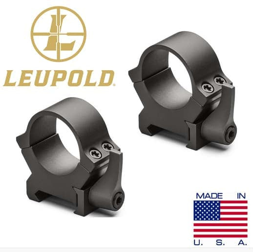 LEUPOLD RING MOUNT QRW2 25.4mm/1inch HIGH QUICK DETACHABLE (MT662)