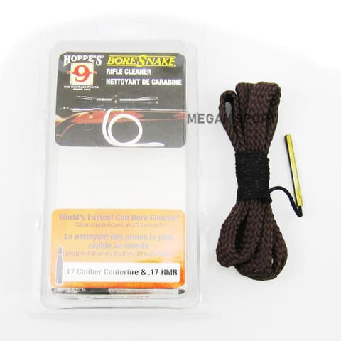 BORE SNAKE 17 CALIBER CENTERFIRE & 17 HMR (AS132)