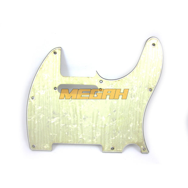 PICKGUARD PRETITION BASS - MUTIARA PUTIH (AG313)