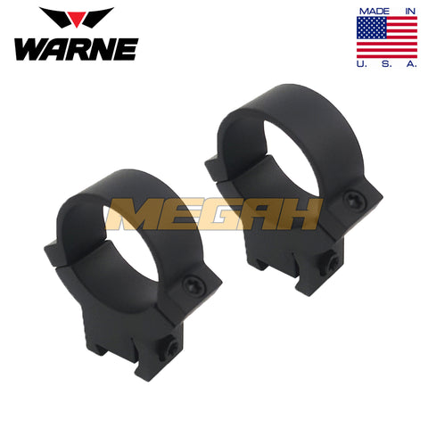 WARNE MAXIMA RING MOUNT USA Ø30 REL ANGIN - HIGH (MT735)