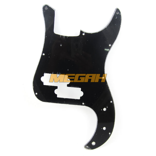 PICKGUARD PRETITION BASS - BLACK (AG321)