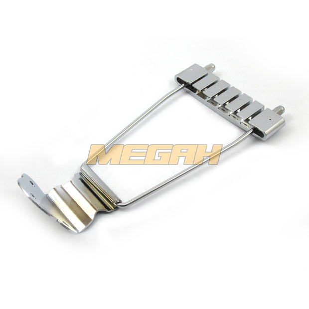 TAILPIECE GUITAR 6 STRING NECK - CHROME (AG083)