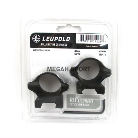 MOUNTING LEUPOLD RIFLEMAN 30MM MEDIUM (MT681)