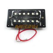 PICK UP (FIXED) 6 STRING BRIDGE/NECK - BLACK AG760