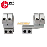 MOUNTING BKL-302 S OFFSET MATTE SILVER 2PC (MT708)