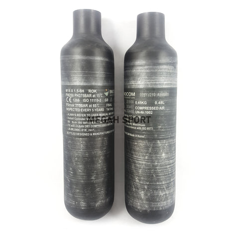 BOTOL INOCOM COMPOSITE CARBON KOREA (AS465)