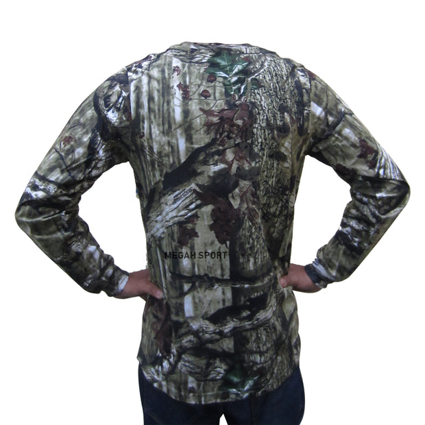 GREYHOUND CAMO KATUN TANGAN PANJANG (KS097)