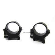 LEUPOLD RING MOUNT PRW2 34MM MEDIUM (MT658)