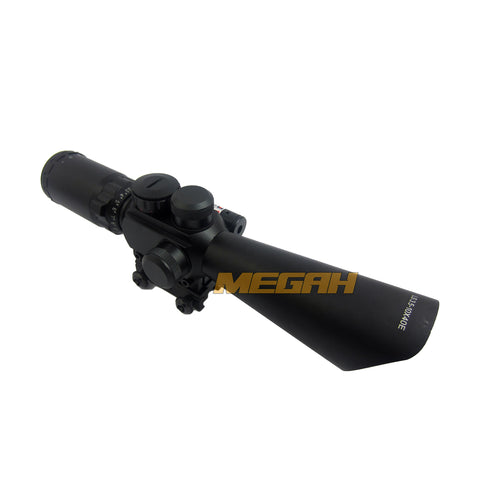 SPIKE 3.5-10X40 E + RED LASER MD-R6 (TC720)