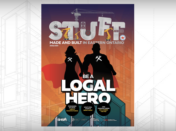 SnapCab Careers Featured in Newest Issue of STUFF Made and Built in Eastern Ontario - SnapCab - Workspace