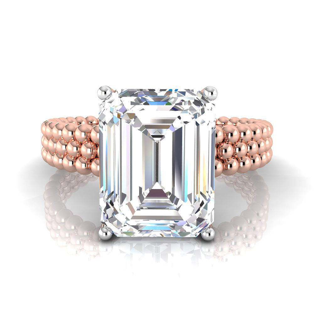 Conquistador- Emerald Cut 4 ct