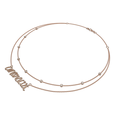 Antiracist Double Layered Necklace