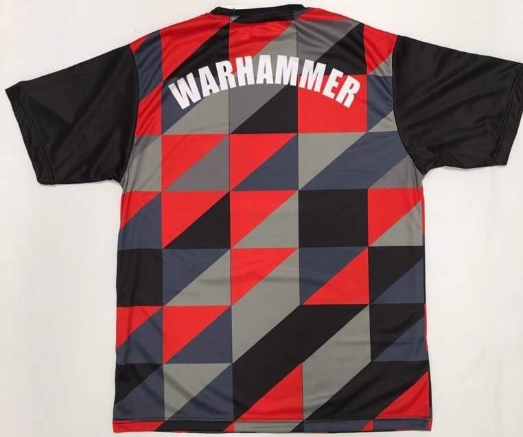 Short Sleeve Futbol Inspired Dry Fit T-Shirt - Warhammer Fightwear
