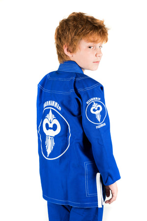 Warhammer Kimono (Blue Series Youth) - Warhammer Fightwear